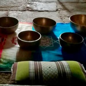 Retiros con cuencos tibetanos
