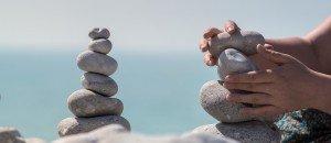 Equilibrio en tu vida, naturaleza, meditación y yoga para ordenar pensamientos