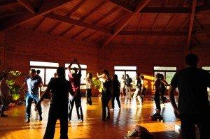 Retiro de kundalini yoga, gong, armónicos y movimiento